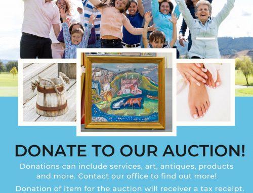 VCHW Foundation Auction News